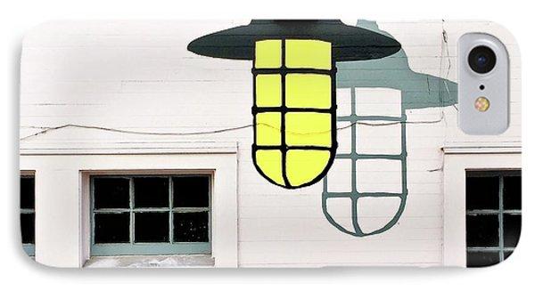 Light Bulb Mural IPhone Case by Julie Gebhardt