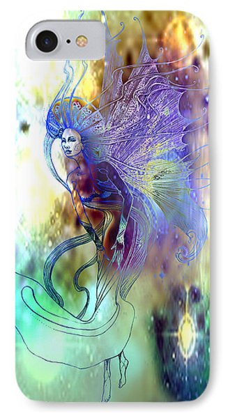 IPhone Case featuring the painting Light Dancer by Ragen Mendenhall