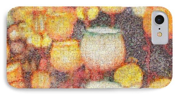 Light Flowers Orange - Da IPhone Case by Leonardo Digenio