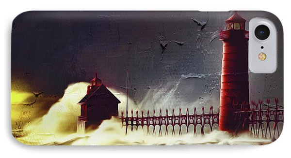 Light House 07 IPhone Case by Gull G