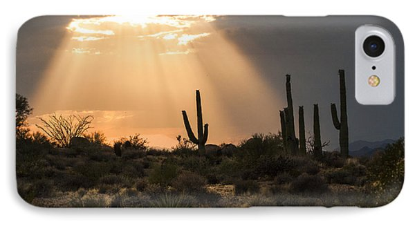 Light In The Desert IPhone Case by Ruth Jolly