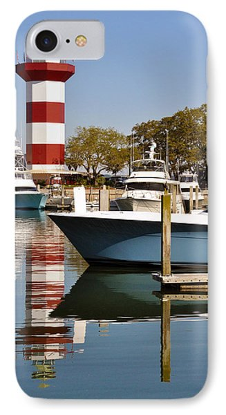 Light In The Harbor IPhone Case by Kay Lovingood