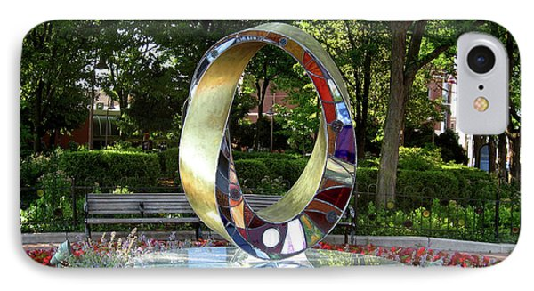 Light Infinity - Homage To Frank Lloyd Wright IPhone Case by Plamen Yordanov