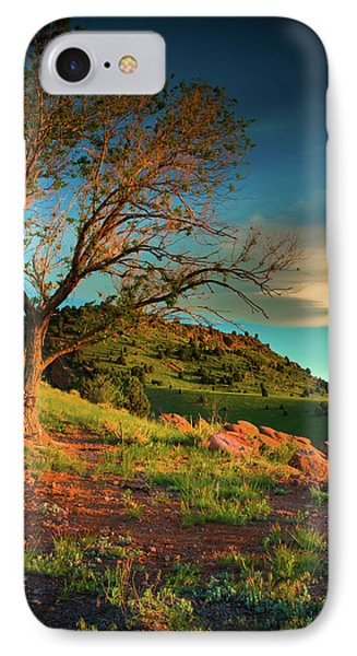 IPhone Case featuring the photograph Light Of The Hillside by John De Bord