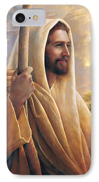 Light Of The World IPhone Case by Greg Olsen