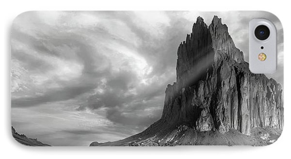 Light On Shiprock IPhone Case by Jon Glaser