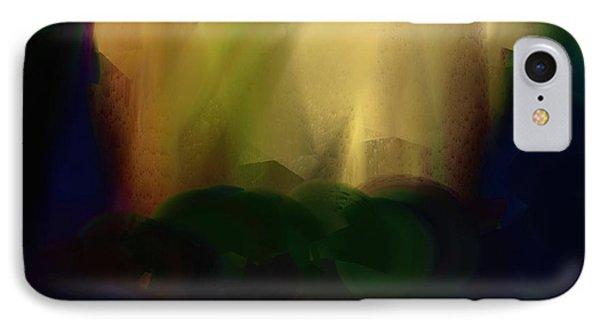 Light On The Horizon IPhone Case by Lenore Senior