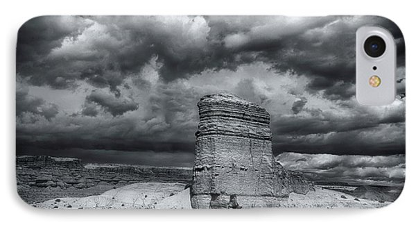 IPhone Case featuring the photograph Light On The Rock by John A Rodriguez