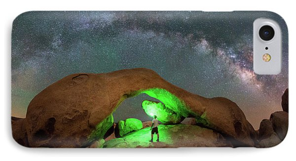 Light Painting Arch Rock IPhone Case