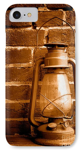 Light Past - Sepia IPhone Case