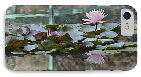 Light Pink Water Lily Phone Case by Linda Geiger