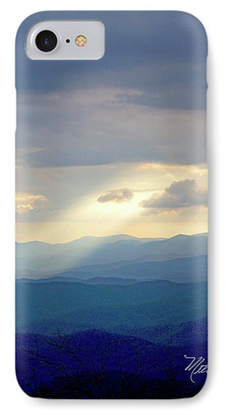Light Ray Sunset IPhone Case by Meta Gatschenberger