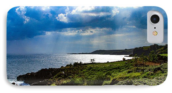 Light Streams On Kauai IPhone Case