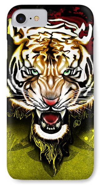 IPhone Case featuring the digital art Light The Torch by AC Williams
