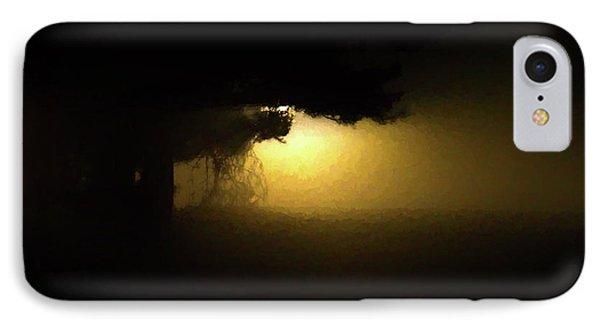 Light Through The Tree IPhone Case by Leeon Pezok
