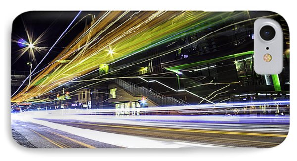 Light Trails 1 IPhone Case by Nicklas Gustafsson