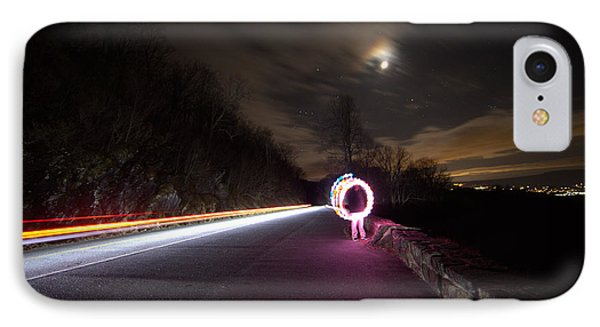Light Trails And Painting IPhone Case by Shannon Louder