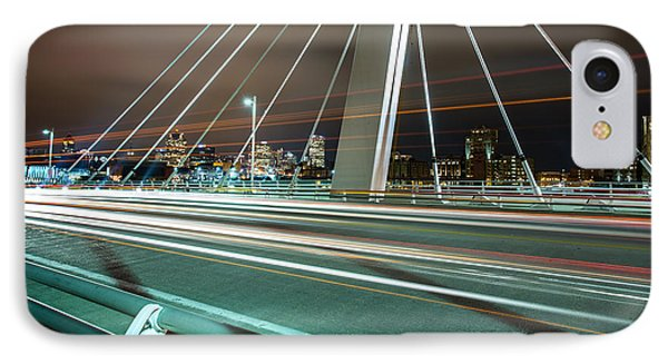 Light Travels IPhone Case by CJ Schmit