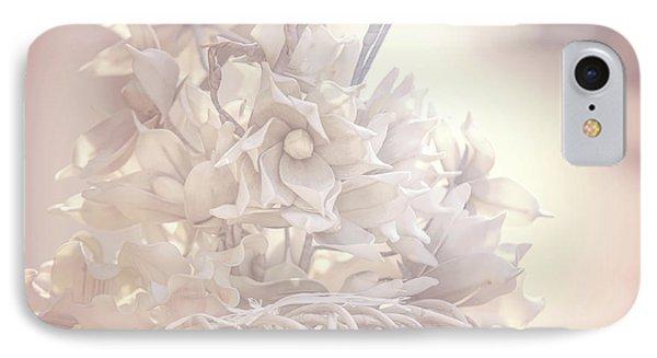 Light Vintage Dream. Dutch Flowers IPhone Case by Jenny Rainbow