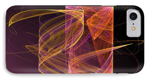 Lightbox IPhone Case by Sandra Bauser Digital Art