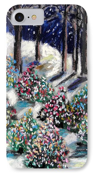IPhone Case featuring the painting Lighted Path by John Williams