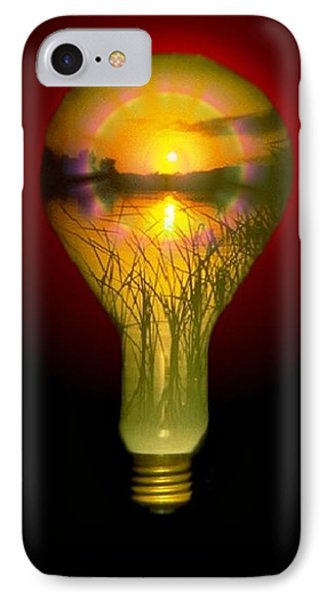 Lighthearted Sunset IPhone Case by Tim Allen
