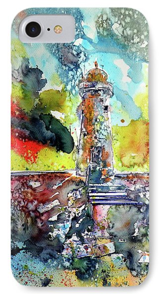 Lighthouse After Storm IPhone Case by Kovacs Anna Brigitta