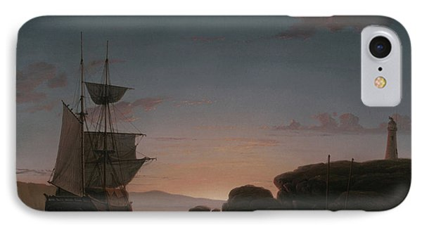 Lighthouse At Camden, Maine, 1851 IPhone Case
