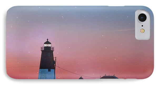 IPhone Case featuring the photograph  Lighthouse At Sunrise by Juli Scalzi