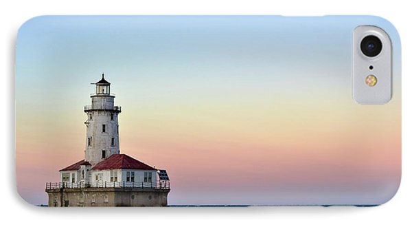 Lighthouse At Sunset IPhone Case by Max Good