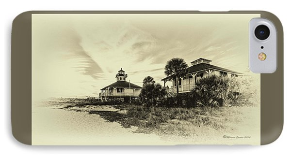 Lighthouse Boca Grande IPhone Case by Marvin Spates