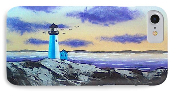Lighthouse IPhone Case by Brenda Bonfield