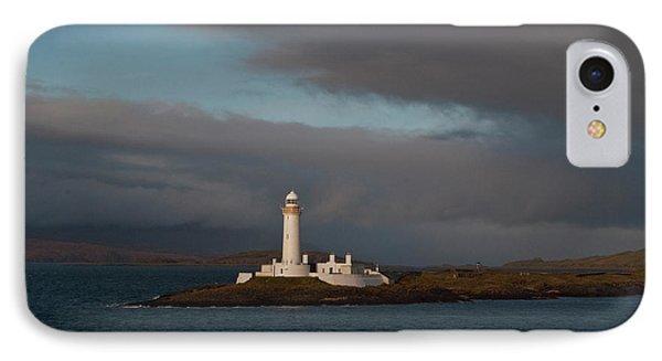 Lighthouse Eilean Musdile Scotland IPhone Case