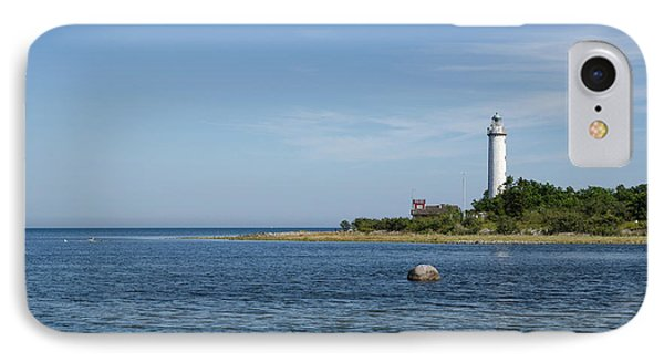IPhone Case featuring the photograph Lighthouse In The Baltic Sea by Kennerth and Birgitta Kullman