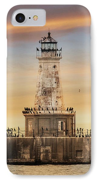 Lighthouse Keepers IPhone Case by Lori Deiter