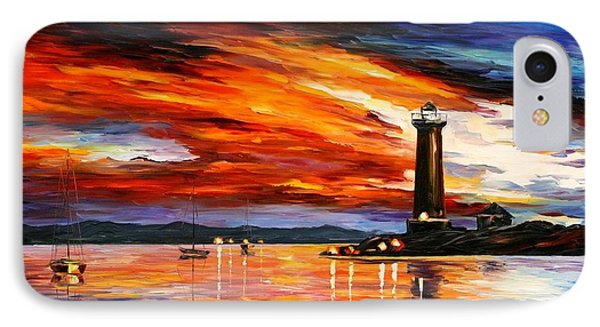 Lighthouse Phone Case by Leonid Afremov