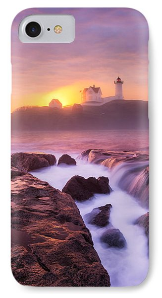 Lighthouse On Fire IPhone Case