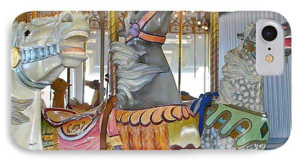 IPhone Case featuring the photograph Lighthouse Park Carousel by Cindy Lee Longhini