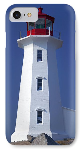 Lighthouse Peggy's Cove IPhone Case by Garry Gay