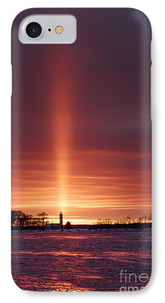 Lighthouse Point Head Light IPhone Case