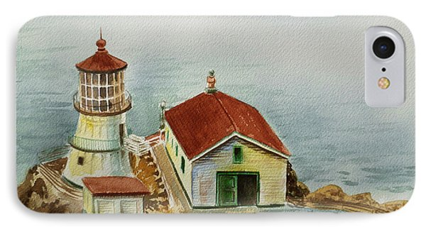 Lighthouse Point Reyes California IPhone Case