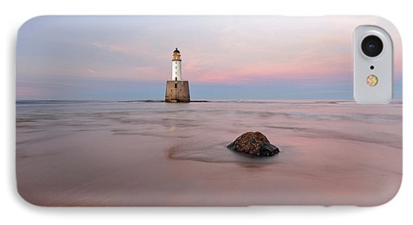 IPhone Case featuring the photograph Lighthouse Sunset Rattray Head by Grant Glendinning