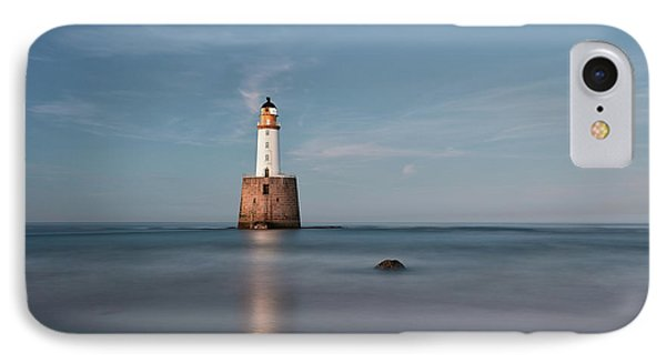 IPhone Case featuring the photograph Lighthouse Twilight by Grant Glendinning