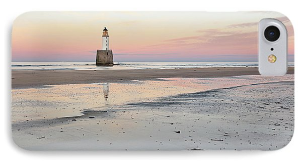 IPhone Case featuring the photograph Lighthouse Sunset - Rattray Head by Grant Glendinning