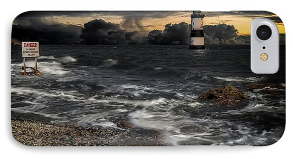 Lighthouse Storm IPhone Case