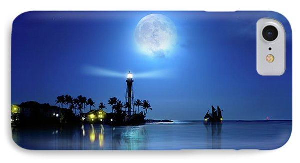 Lighting The Lighthouse IPhone Case by Mark Andrew Thomas