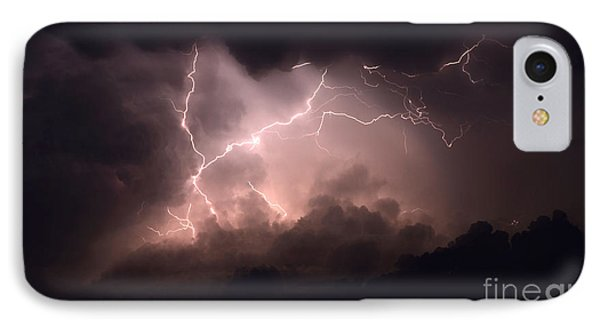 Lightning 2 Phone Case by Bob Christopher