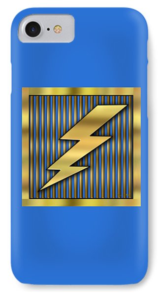Lightning Bolt IPhone Case by Chuck Staley