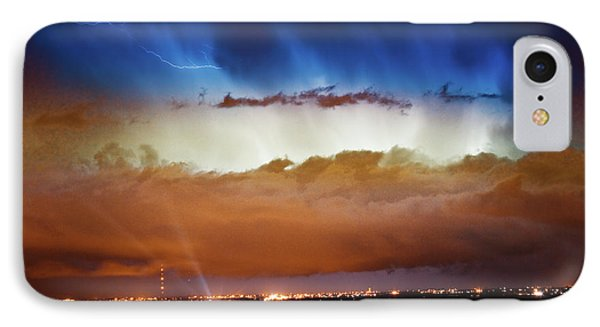 Lightning Cloud Burst Boulder County Colorado Im34 Phone Case by James BO  Insogna