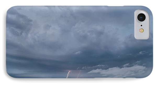 IPhone Case featuring the photograph Lightning by Melany Sarafis